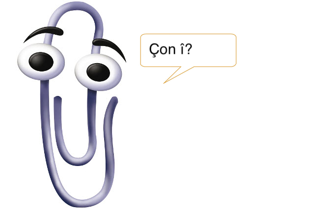 Kurdish Clippy!