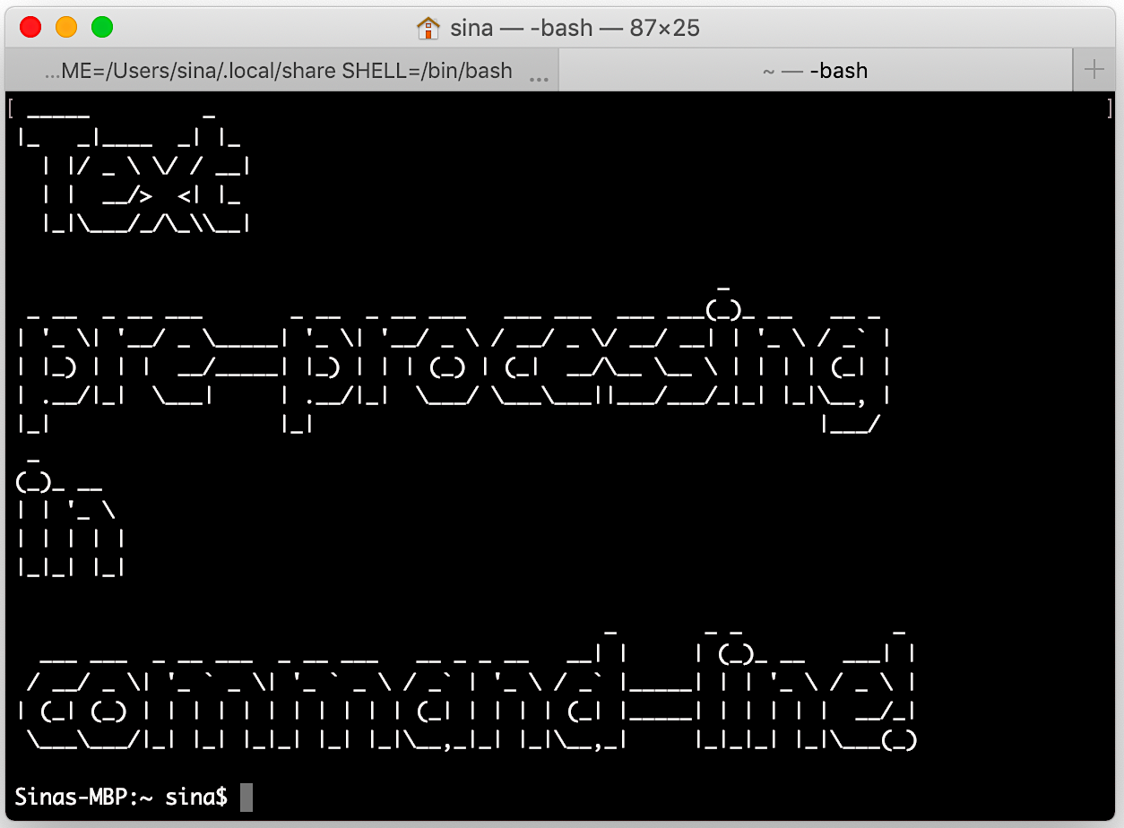 Text pre-processing using command-line